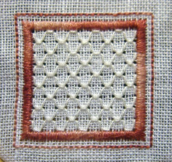 5 Honeycomb Stitch
