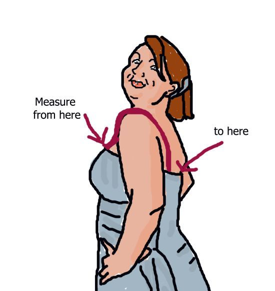 how to make a strapless dress tighter