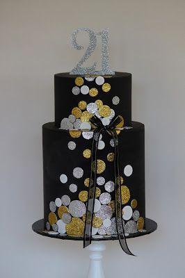 Couture Cupcakes & Cookies: Glitter Confetti Cake