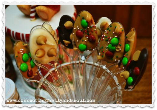 images about hot chocolate spoons on Pinterest | Reindeer, Chocolate ...