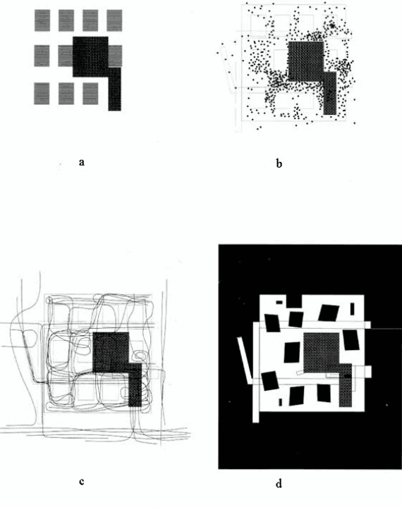 70 best architectural diagram images on pinterest infographic a undifferentiated program b activity clusters c movement patterns d figureground reversal stan allen points lines diagrams and projects for the publicscrutiny Images