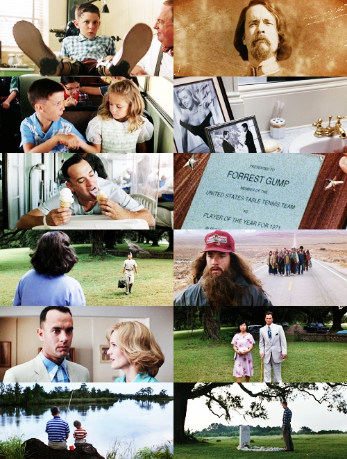 an analysis of forrest gump a film starring tom hanks Forrest gump is a 1994 american epic romantic-comedy-drama film based on the 1986 novel of the same name by winston groom the film was directed by robert zemeckis and stars tom hanks, robin wright, gary sinise, mykelti williamson, and sally field.