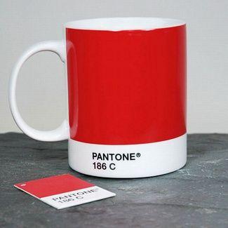 Red Pantone Mug