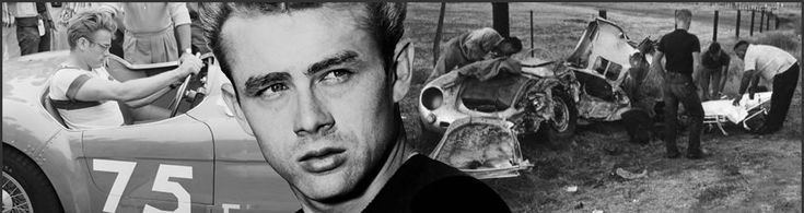 On this day in 1955, movie star James Dean dies at age 24 in a car crash on a California highway.