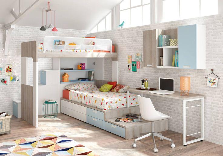 16 best camas literas images on pinterest at home taken - Literas para adultos ...
