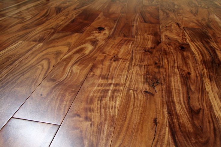 Exotic Acacia Collection - Natural / Acacia / Standard / 4 3/4""