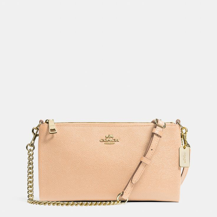 Kylie Crossbody in Embossed Textured Leather Coach Purses