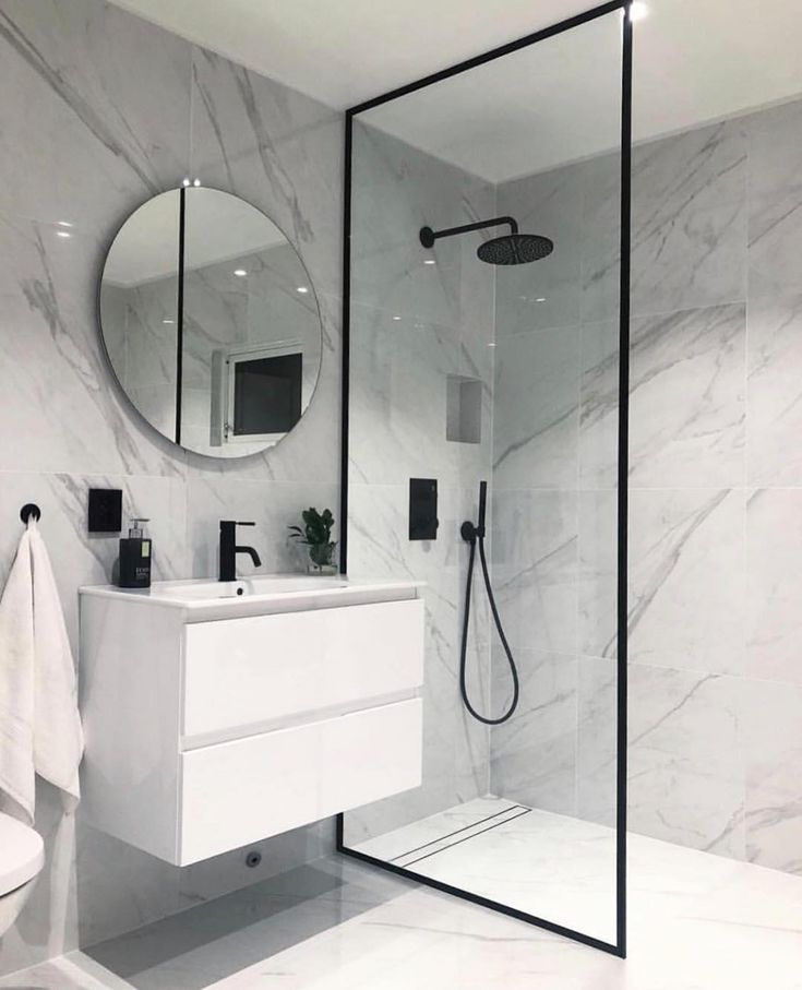 40 of The Best Modern & Functional Bathroom Design Ideas