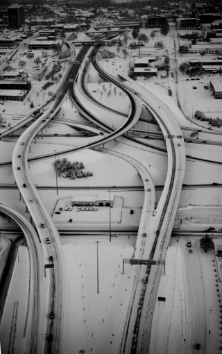 snowy interchange