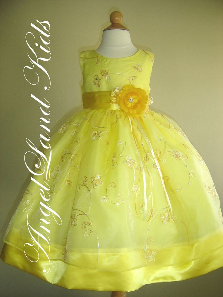easter dresses  ... Girls Yellow Easter Dresses Beautiful Girls ...