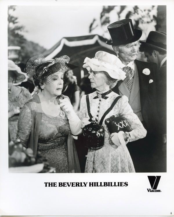 The Beverly Hillbillies original TV photo Buddy Ebsen Irene Ryan formal dress