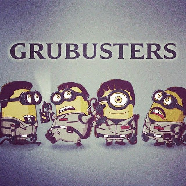 #grub #busters #ghost #minions #cute