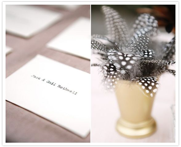 feathers + gold: Picture, 1920S, Feather Centerpiece, Mint Julep Cups