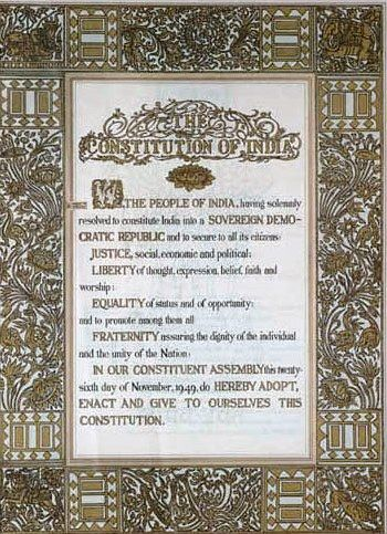 UPSC (M) Paper iii (GS-II)-- Indian Constitution : Historical underpinnings and Evolution