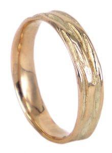 Danaë wedding ring in 9ct rose gold