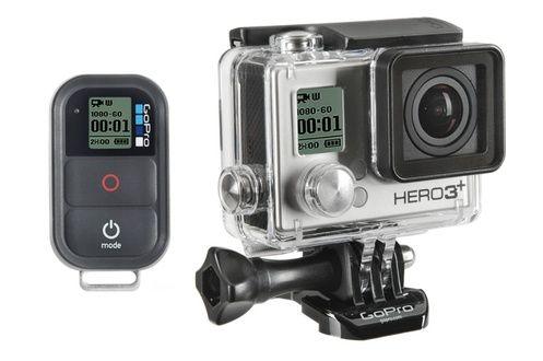 Caméra sportive Gopro HD HERO3 + BLACK EDITION AVENTURE prix promo Darty 449.00 € TTC