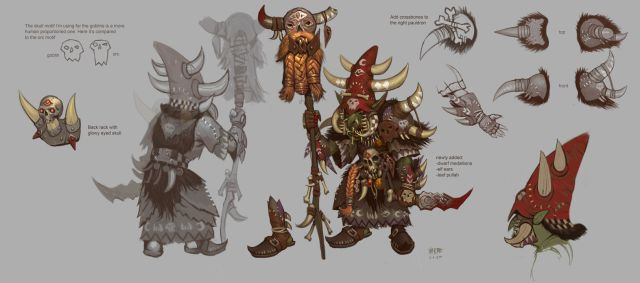 Goblin Shaman Epic Armor Picture  (2d, character, armor, magic, goblin, shaman, fantasy)