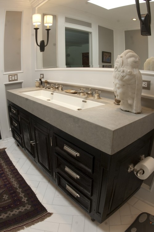 ... trough Kids bathroom Pinterest Sinks, Trough Sink and Squares