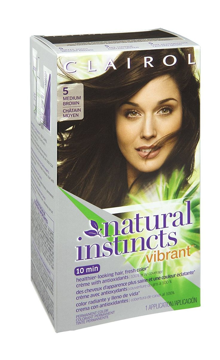 Clairol Natural Instincts Vibrant 5 Medium Brown Permanent Haircolor, 1 CT (Pack of 3) *** Want to know more, click on the image. (This is an affiliate link and I receive a commission for the sales)