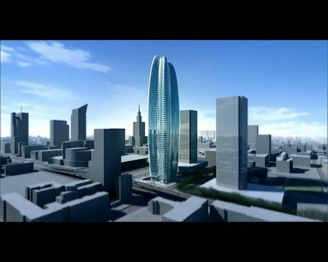 Lilium Tower in Warsaw by Zaha Hadid