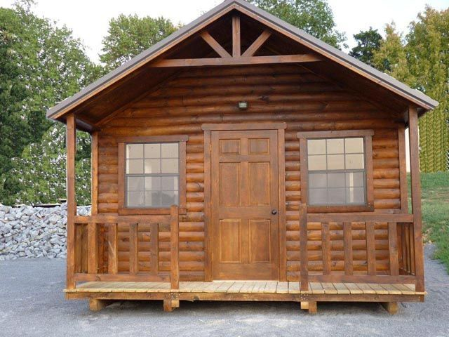 Small Cabins To Build Small Log Cabins Portable Wood
