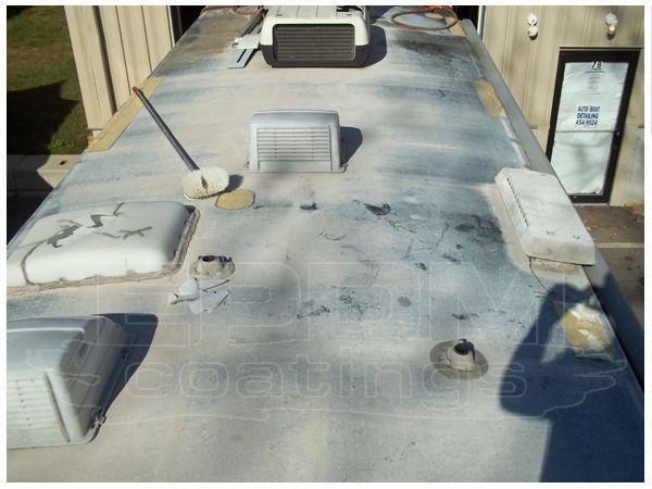 RV Liquid Roof: RV Roof Leaks Surest Repair