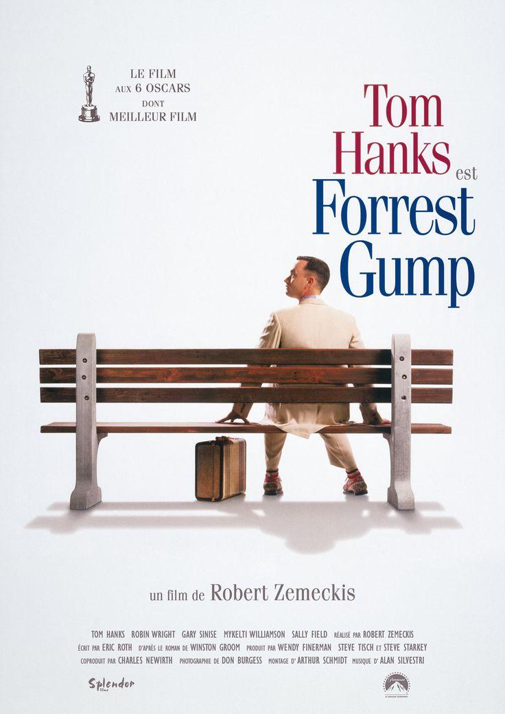 Forrest Gump est un film de Robert Zemeckis avec Tom Hanks, Gary Sinise. Synopsis : Quelques décennies d'histoire américaine, des années 1940 à la fin du XXème siècle, à travers le regard et l'étrange odyssée d'un homme simple et pur,