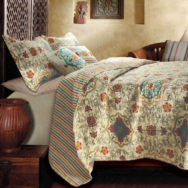 Esprit Spice Cotton Quilt Bedding Set