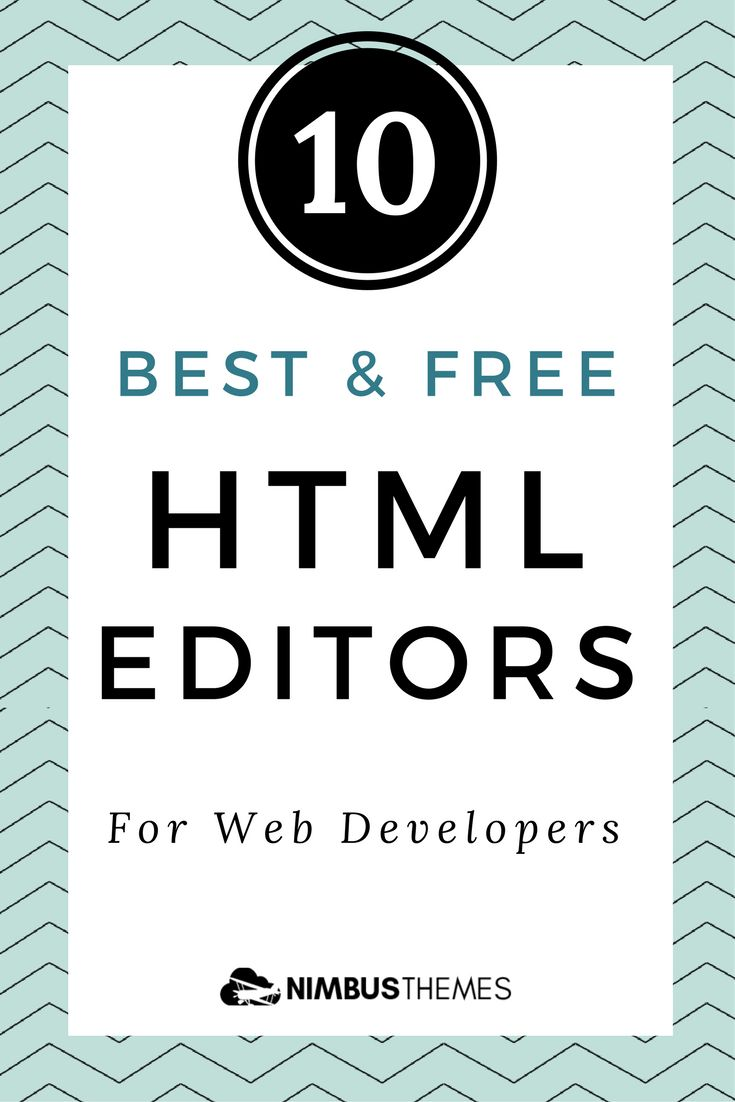 As a developer, you need a high-quality HTML editor that will auto-check code, preview changes, & support FTP. Check our review of the best editors around!