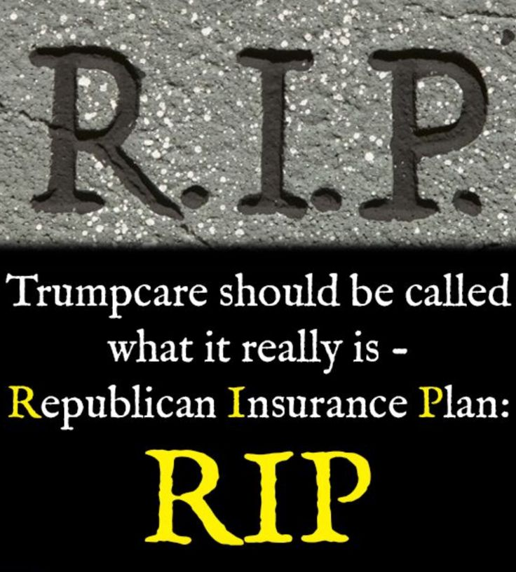 Death panels were never a thing, but now, we're actually close to that...and it's NOT because of Obama. He helped people. Trump just wants more money.