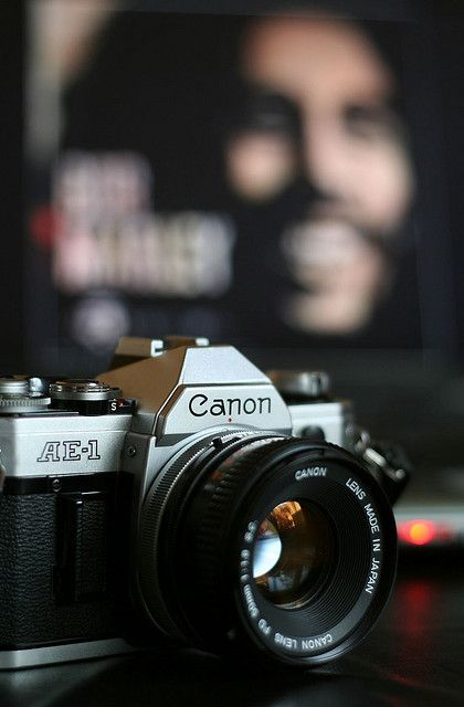 Canon AE-1. My second SLR.