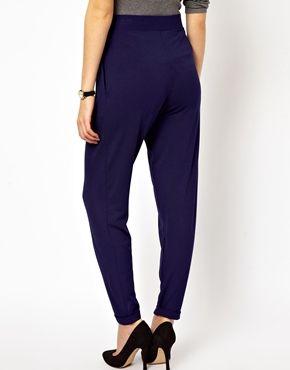 Темно-синие брюки-галифе ASOSTALL