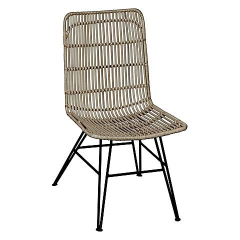 Laid-back in its textured weave, the Coronado Rattan Dining Chair from Beaumont & Braddock exudes a relaxed vibe in your everyday seating.