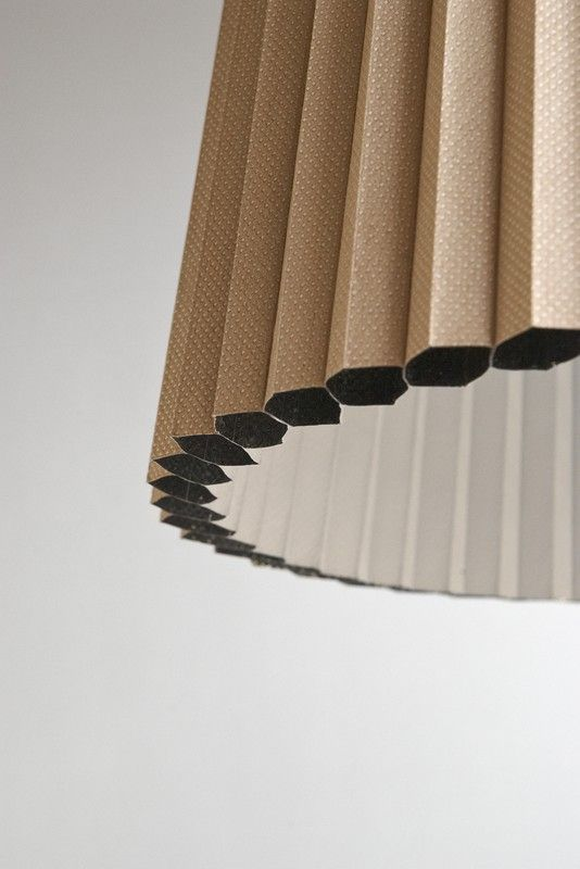 Milk coffee HARMONICA lamp by FLAPO