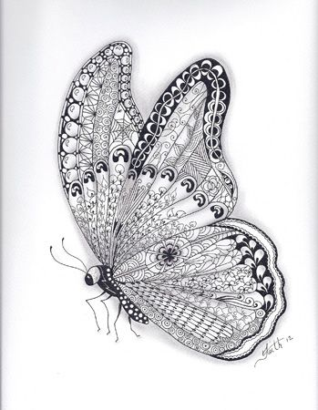 I just love butterflies their just gorgeous! The art is just beautiful.