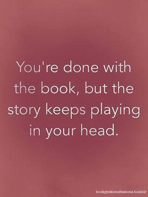 Called a book hangover