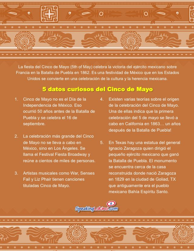 5 Curious Facts About Cinco de Mayo [FREE PRINTABLE POSTERS]