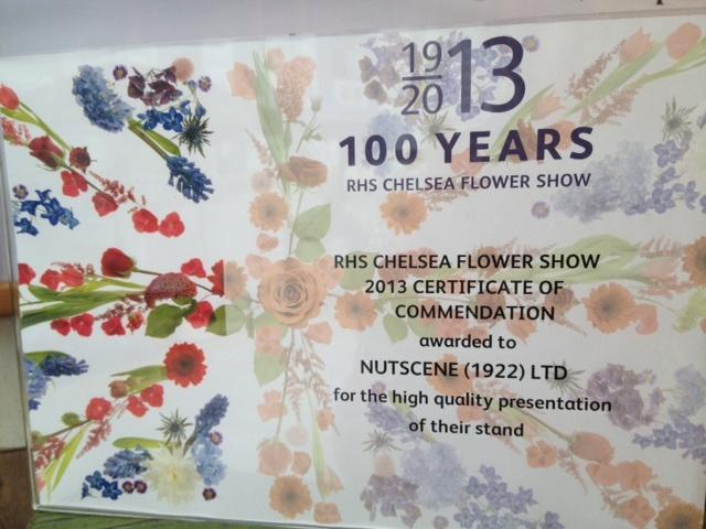 @RHSchelseaflowershow 2013  Nutscene (1922) Ltd Award-winning stand - especially for gardening, string & twine lovers