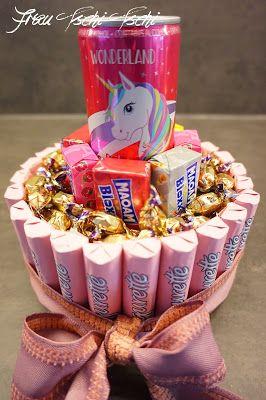Einhorntorte – ohne BACKEN mit viel SCHOKOLADE Unicorn cake – Natascha Lechler
