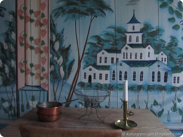 Wall paintings, Hälsingland, Sweden