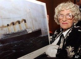 Millvina Dean, the last Titanic survivor who passed away in 2009
