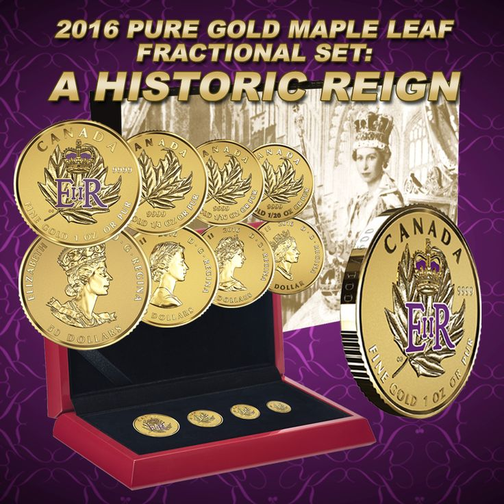 Her Majesty Queen Elizabeth II surpasses that of Queen Victoria  to become the longest reigning Sovereign in modern Canadian history. Pick up this exquisite Fractional coin set to commemorate this joyous moment in our time.