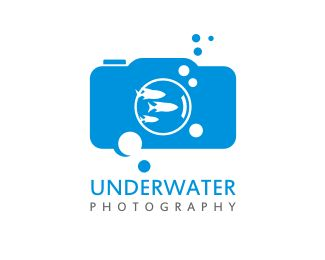 Underwater Photography Logo design - This logo is ideal for art & photography and any related businesses.