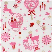 love this whimsical xmas fabric