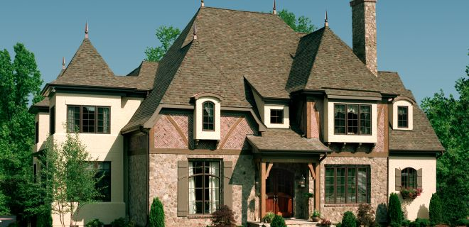 English home exteriors english tudor house luxury for French country tudor house plans