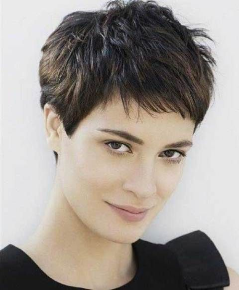 Short Choppy Pixie Haircut Short Haircuts For Fine Hair