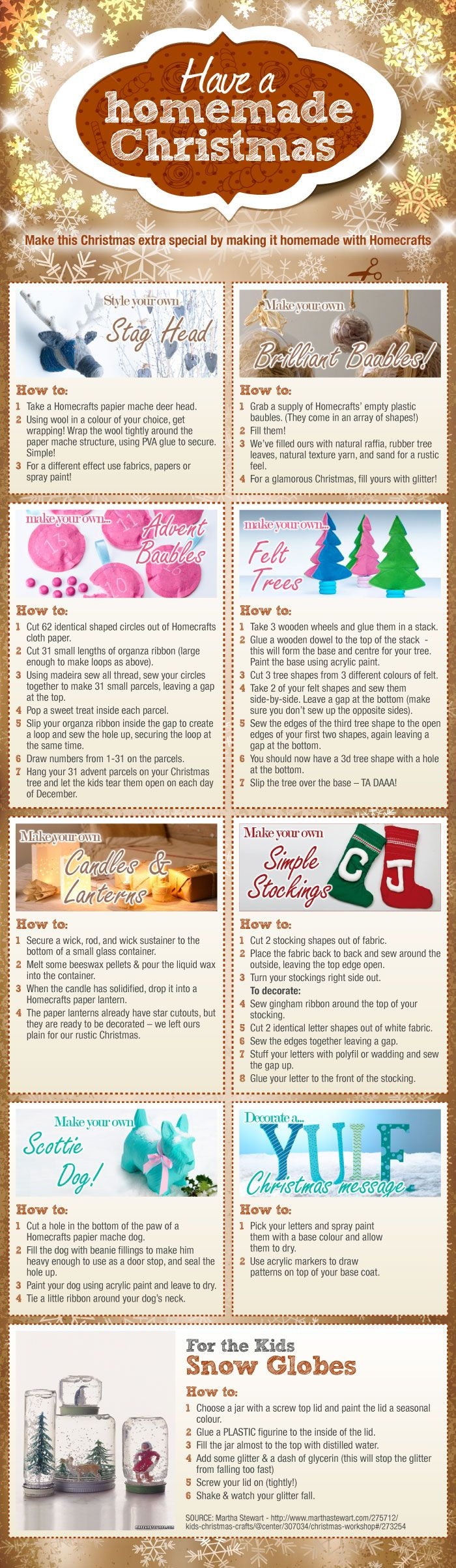 Lots of fabulous ideas for fun and easy Christmas crafts