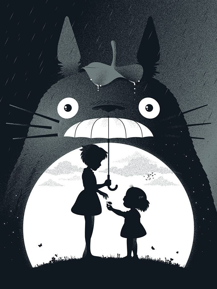 Totoro, nunca me canso                                                       …