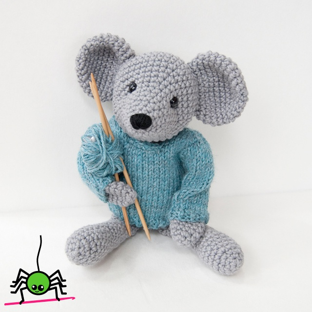 Knitting Pattern For Rat Sweater : 17 Best images about Mouse - Crocheted or Knitted on ...