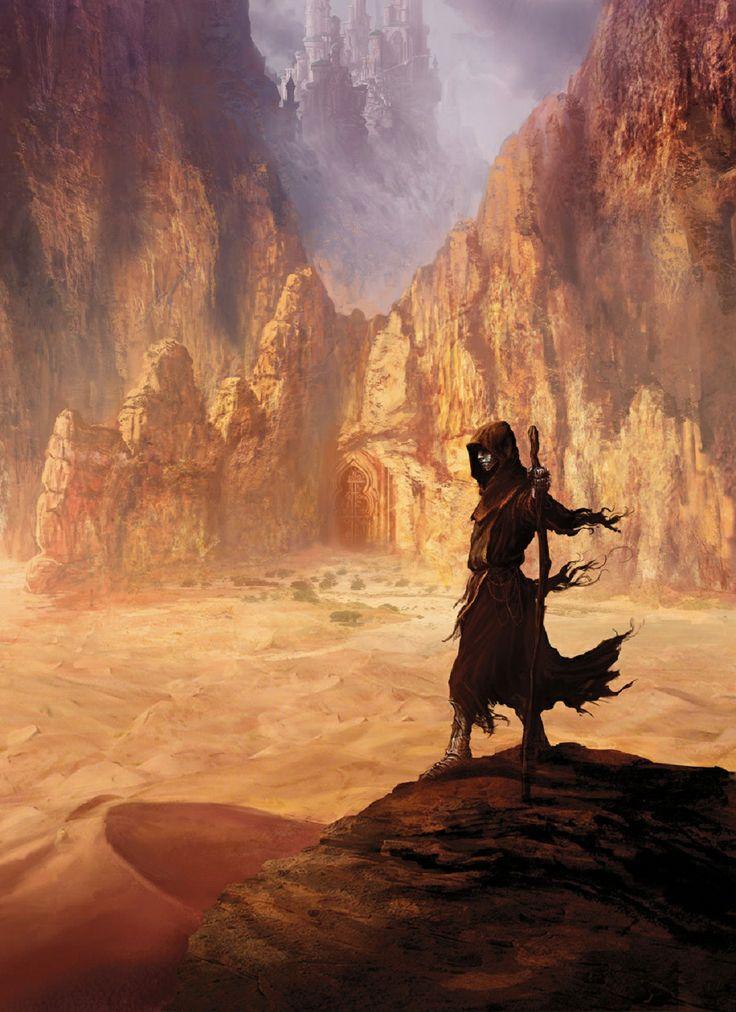 Temple dans le désert (Marc Simonetti)